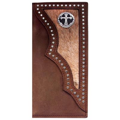 3d Men's Dark Brown Rodeo Wallet