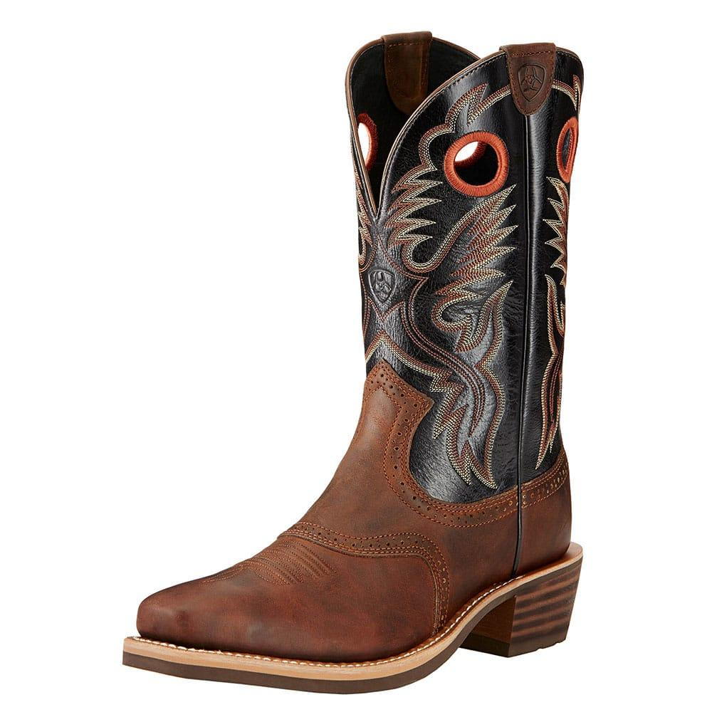 Ariat Men's Heritage Roughstock Bar Top Boots | D&D