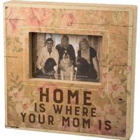 Where Mom Is Box Frame