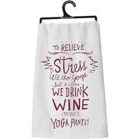 Yoga Pants Dish Towel