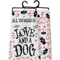 Love and a Dog Dish Towel
