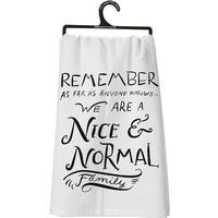 The Nice and Normal Dish Towel