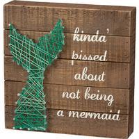Mermaid String Art