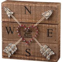 Compass String Art
