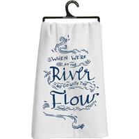 Go With the Flow Dish Towel
