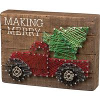 Make Merry String Art