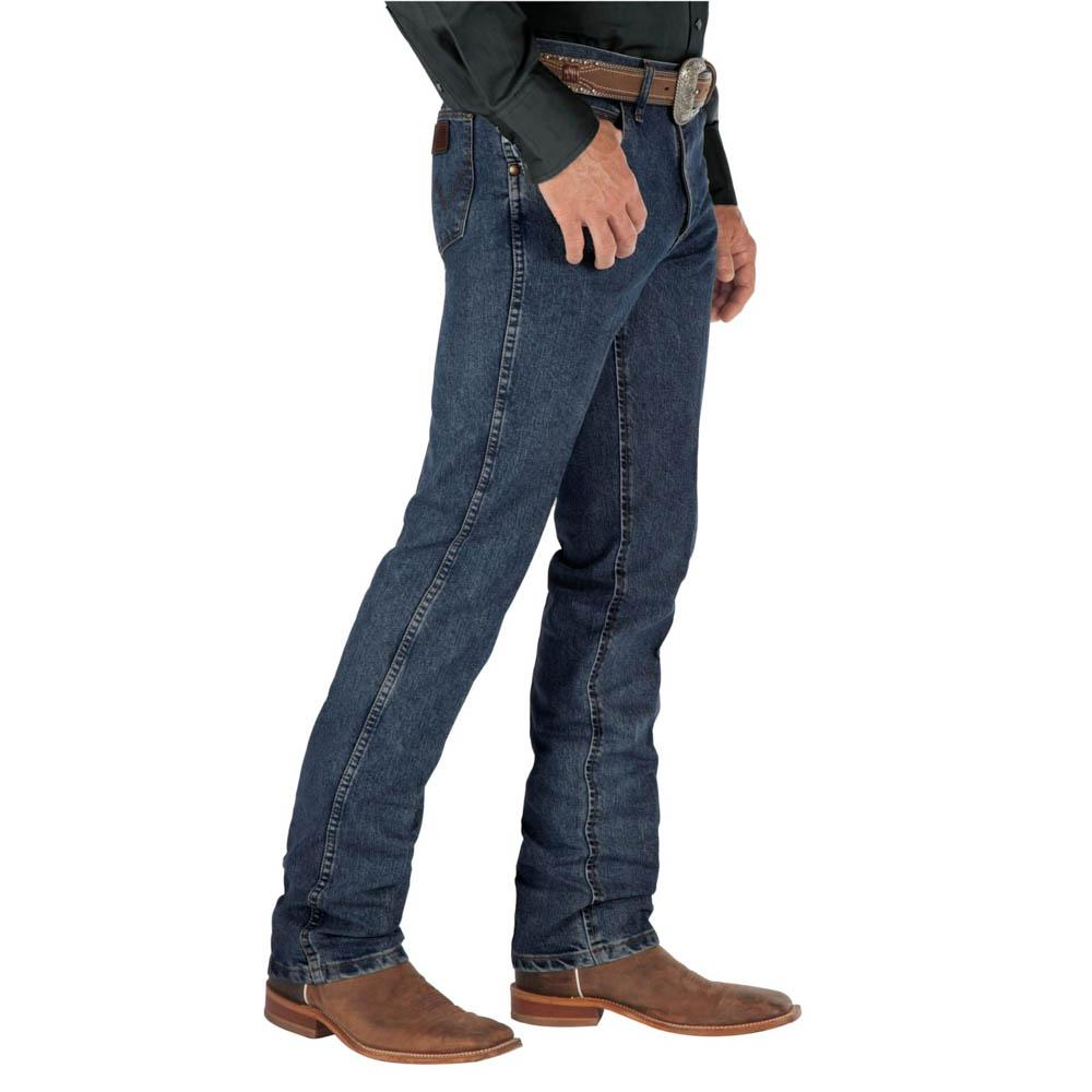 0a1f8a04 Wrangler Men's Cool Vantage Dark Stone Jeans - Slim Fit. Tap to expand