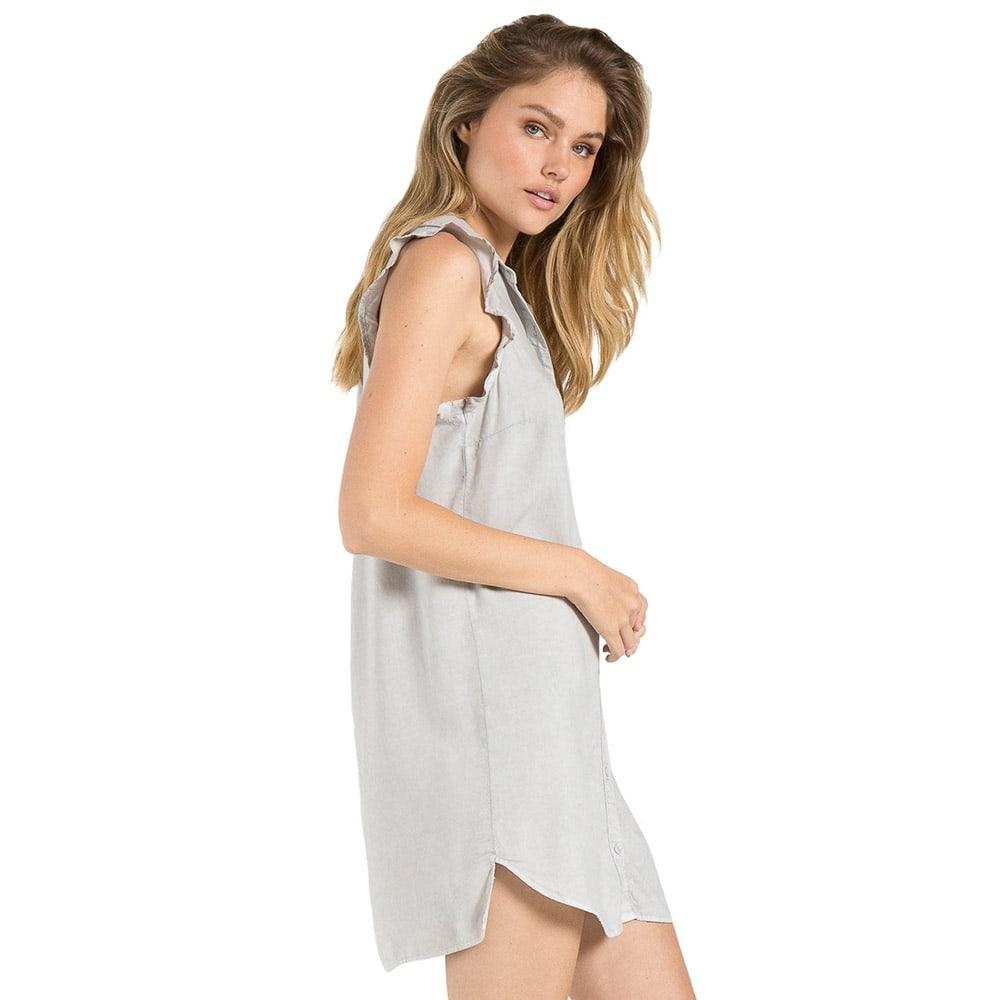 dd3e9c53a67 Bella Dahl Women s Sleeveless Ruffle Shirt Dress