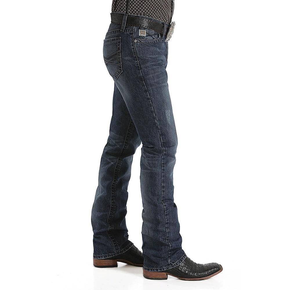 88d26dc4169 Cinch Men's Ian Slim Dark Stonewash Jean. Tap to expand · Cinch Men's Jean  ...