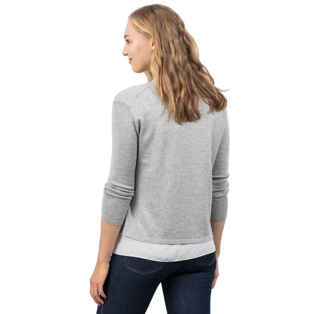 Lola And Sophie Womens 34 Sleeve Cardigan
