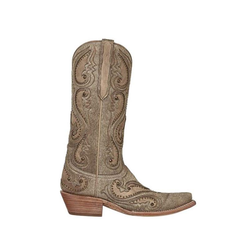 Lastest Lucchese Womenu0026#39;s Handcrafted 1883 Flannery Fringe Zipper Boot Snip Toe - M4907 | EBay