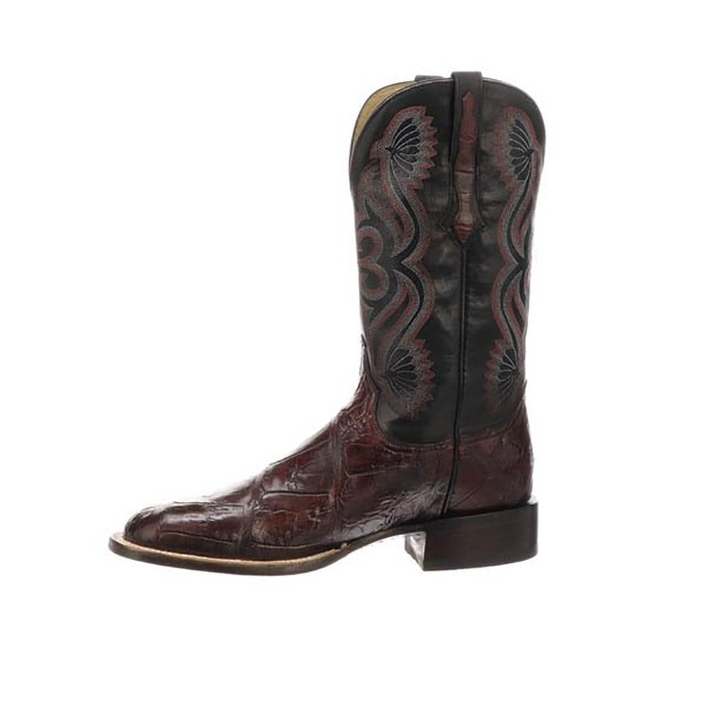b60e917e929 Lucchese Men's Black Cherry Roy Boots