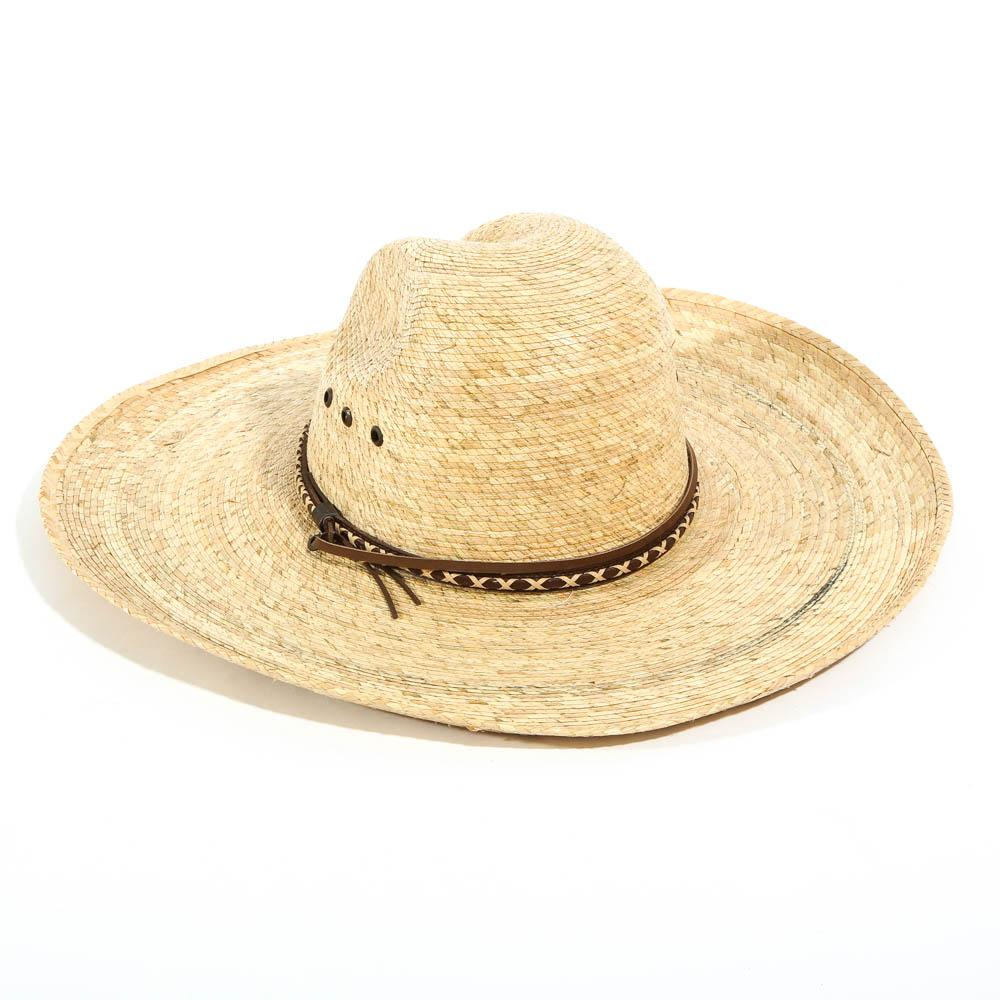 Lone Star Tom Mix Verde Palm Hat