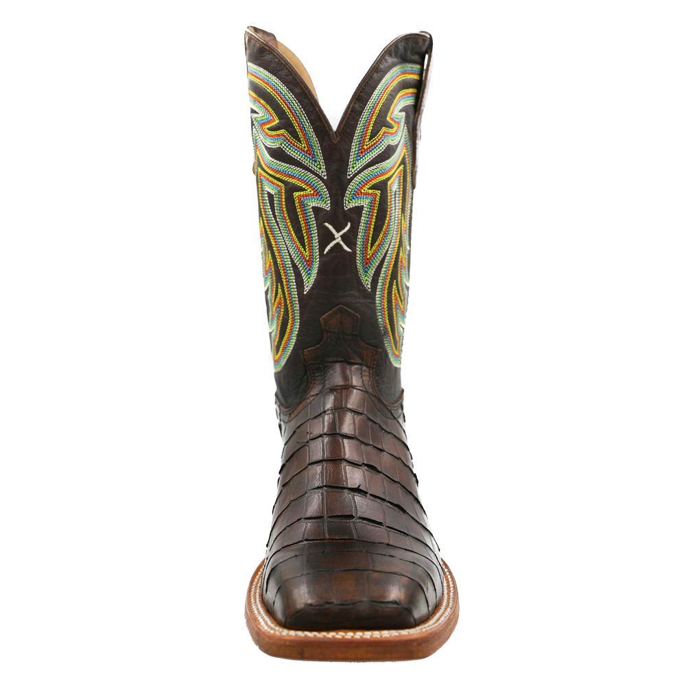 b383283c3a3 Twisted X Men's Chocolate Gator Print Boot