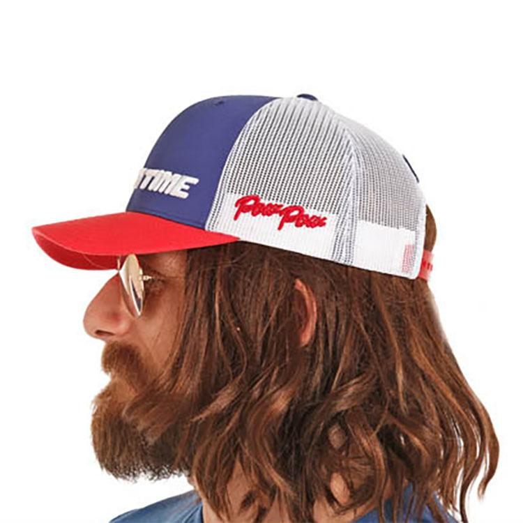 Rock   Roll Denim Men s Dale Brisby Rodeo Time Trucker Cap f03add79409