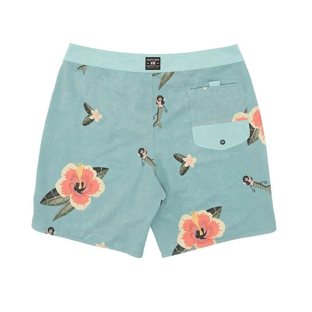 805b2052d7 Salty Crew Men's Tradewinds Aqua Boardshorts