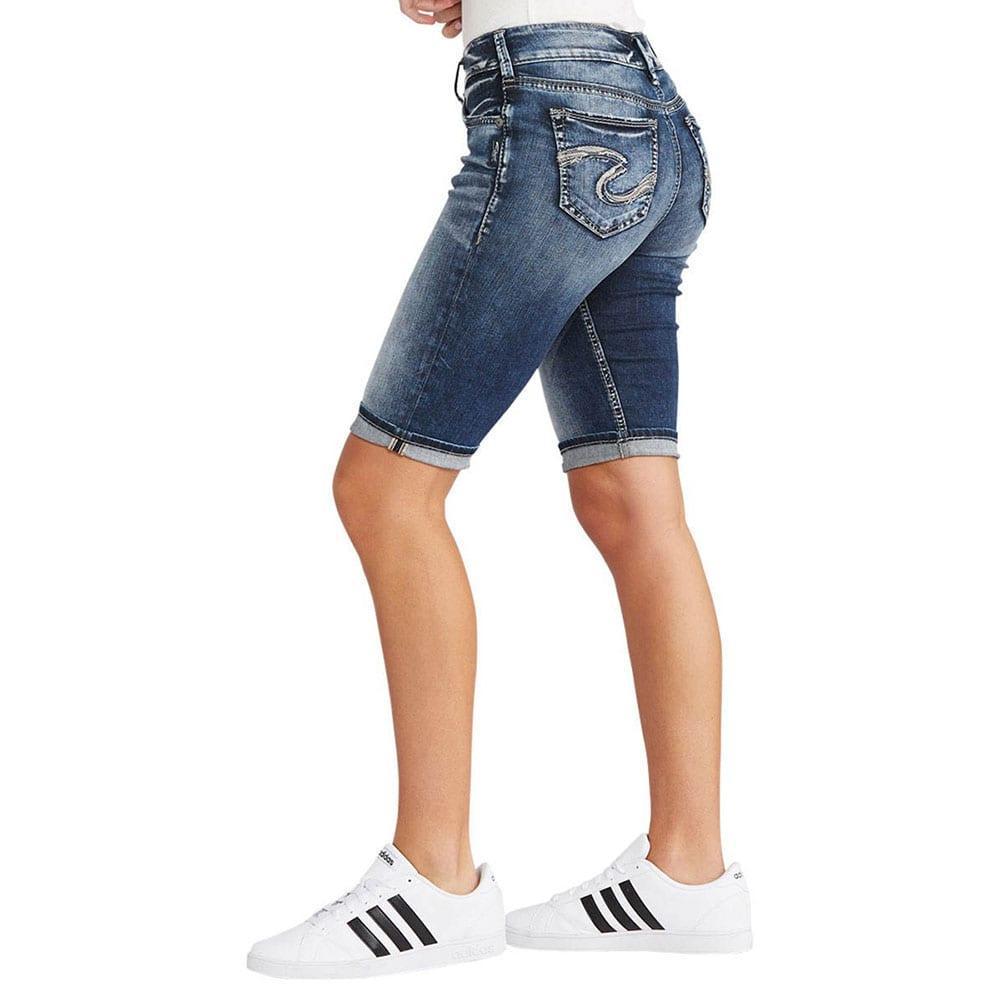 Silver Jeans Women's Suki Bermuda Shorts