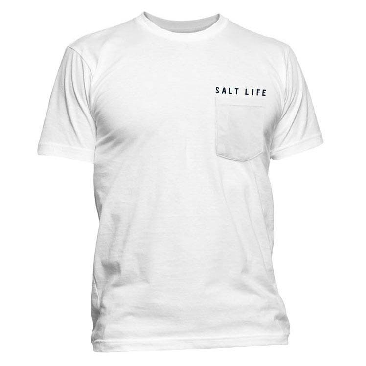 80c09de5 Salt Life Men's White Sailfish Glory T-Shirt