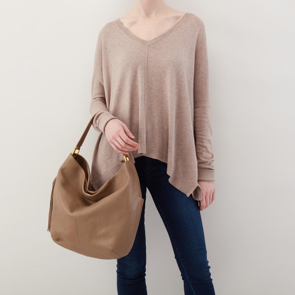 a4eff6efa58 Hobo Meridian Velvet Hide Shoulder Bag Item   SO-82221MUSH