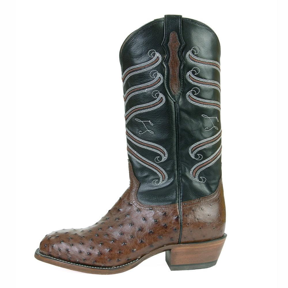 ee2b2ee88d8 Tony Lama Round Toe Ostrich Boots - The Best Boots In The World