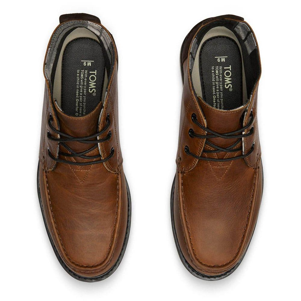 7b590547220 Toms Men s Shoes Toms Men s Shoes Toms Men s Shoes Toms Men s Waterproof  Brown Leather Chukka Boots