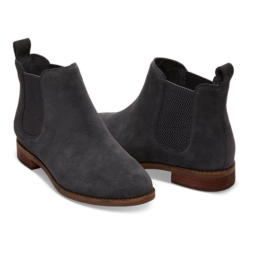 8c2be35e574 TOMS Women s Grey Ella Ankle Boots