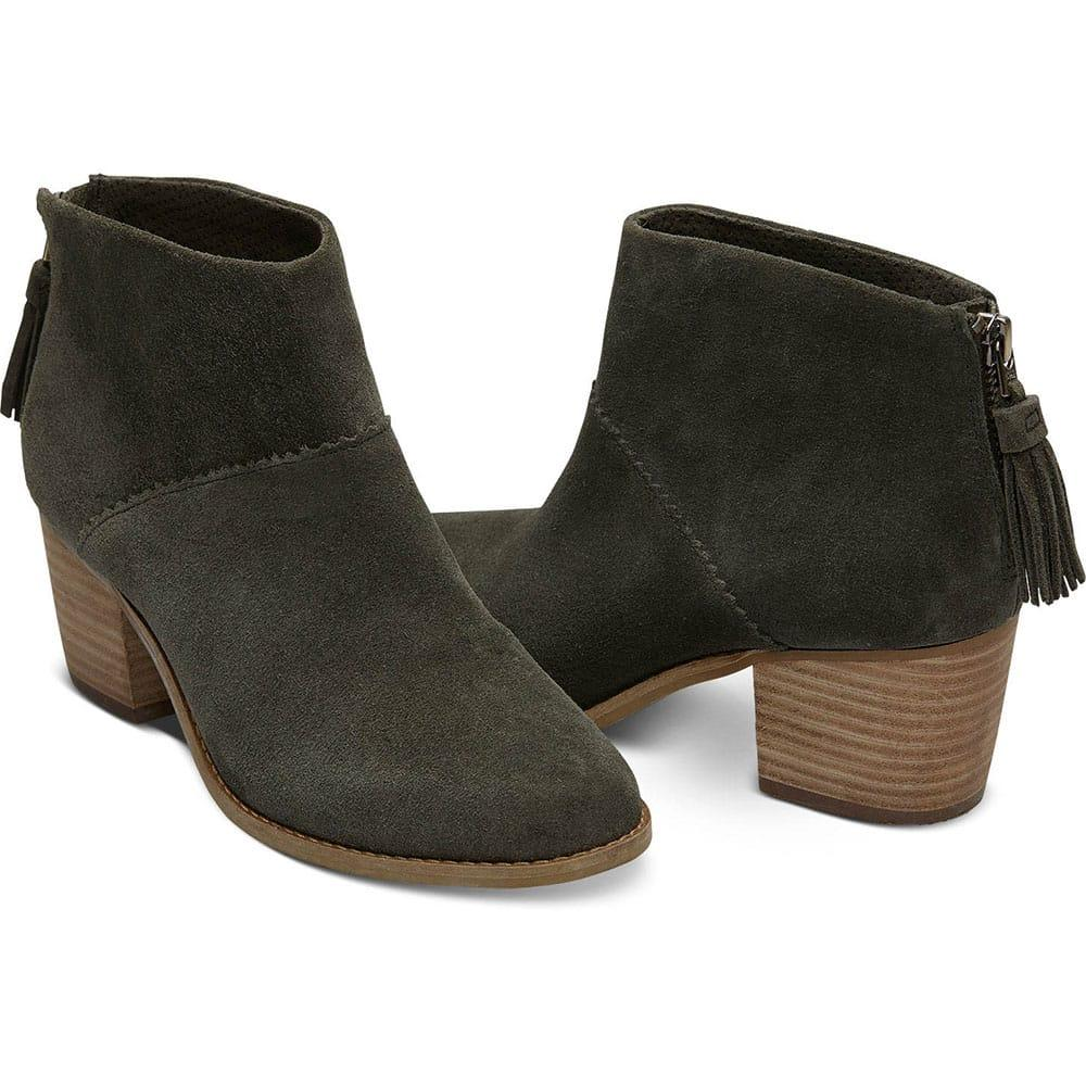 87d6462dd0a TOMS Women s Forest Suede Leila Ankle Boots