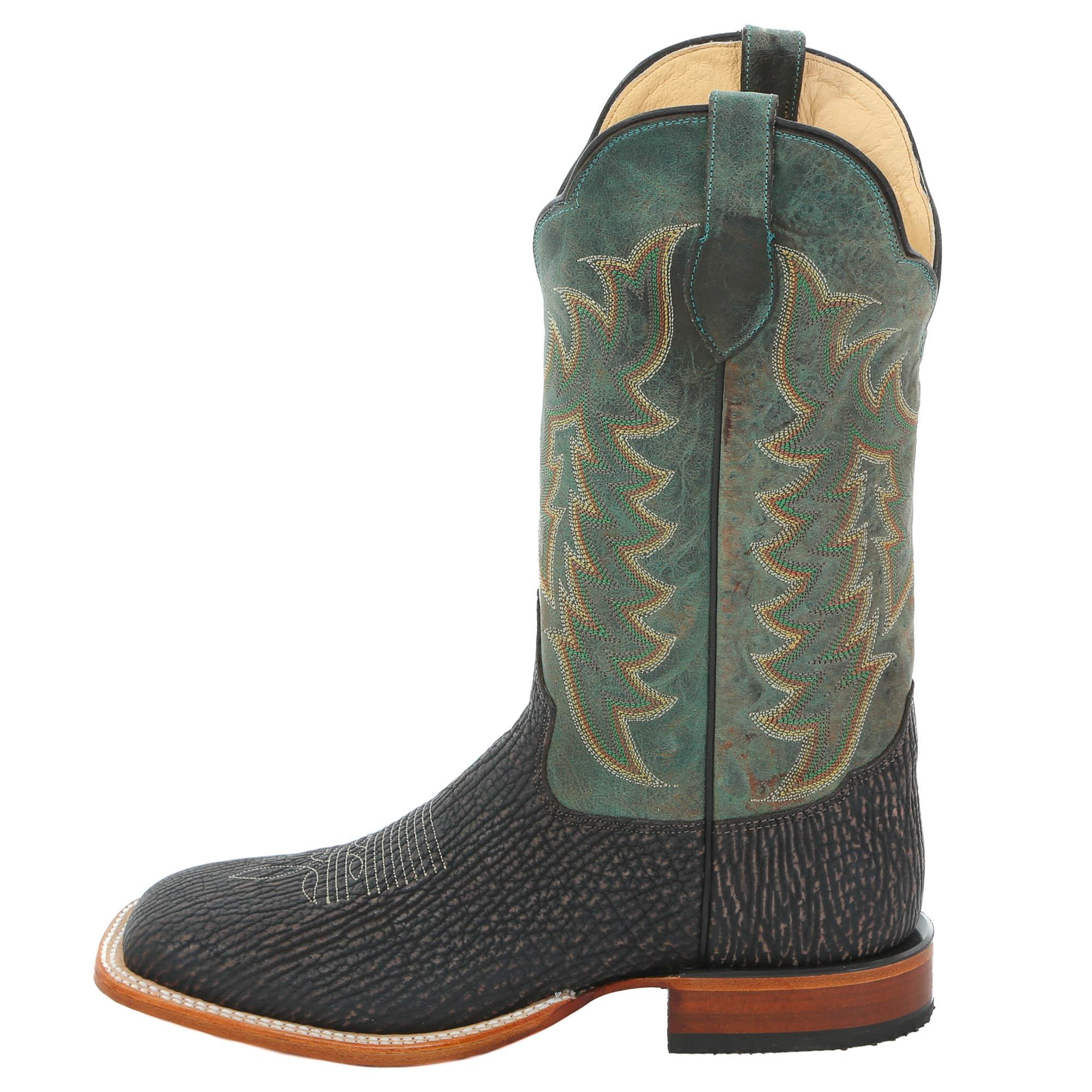 Tony Lama Men S Nubuck Shark Cowboy Boots
