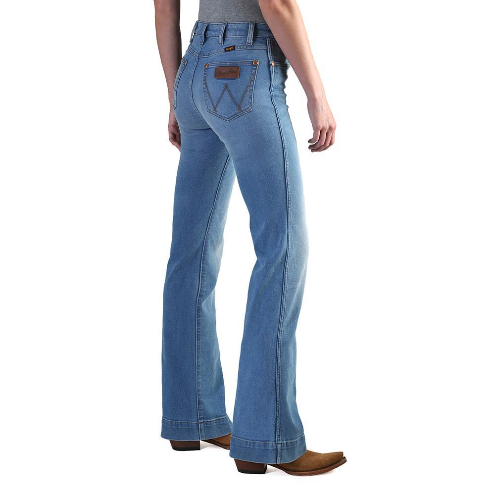 9f7dc9e5307 Wrangler Women s Jeans Wrangler Women s Jeans Wrangler Women s Jeans  Wrangler Women s Retro High Rise Trouser Jeans