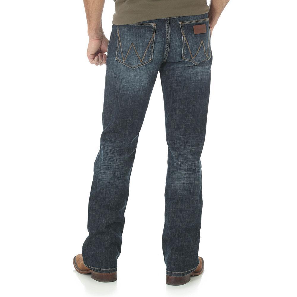 5428697f Wrangler Men's Redding Retro Slim Boot Jeans