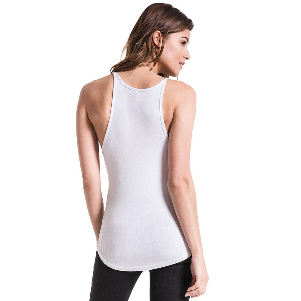 Z Supply Women S Micro Ribbed High Neck Knit Tank Top
