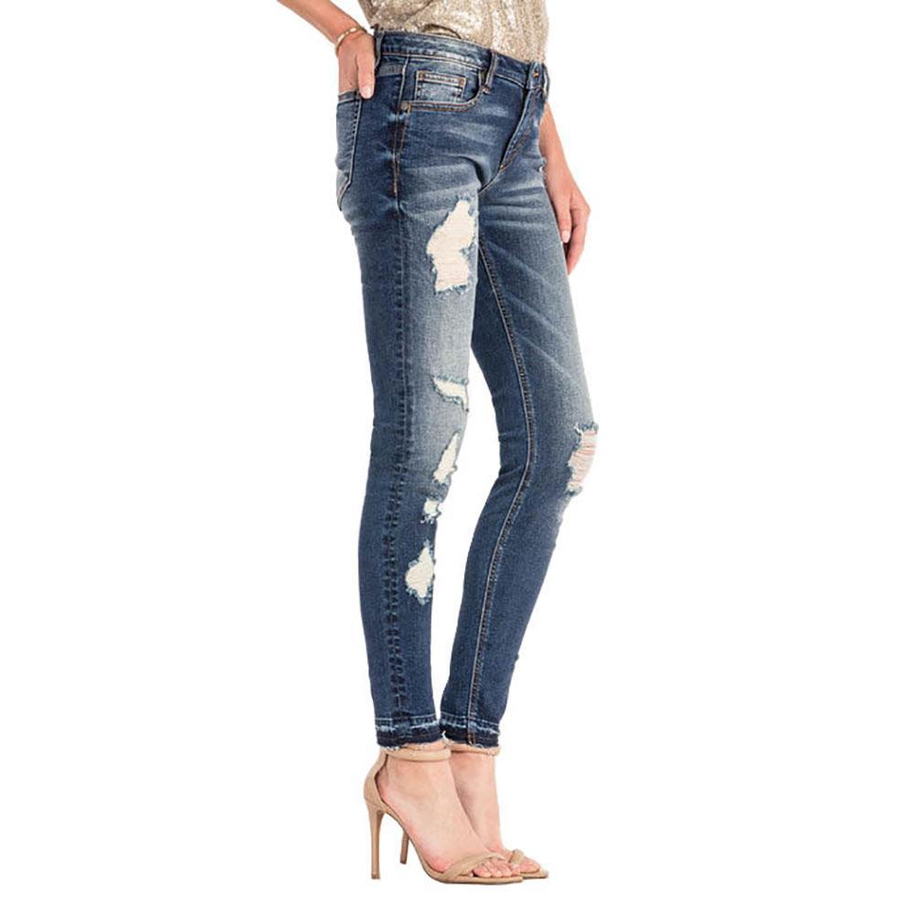 Miss Me Women s Distressed Skinny Skinny Jeans b03d87dc0