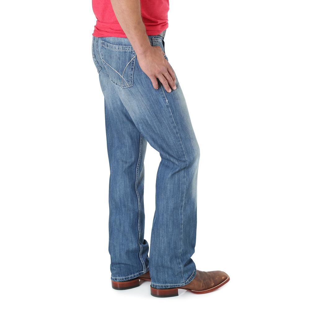 Wrangler Mens Vintage Boot Cut Jeans