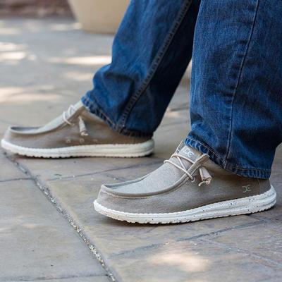 Hey Dude Wally Stretch Shoe