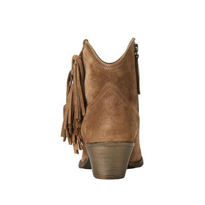 Artiat Women's Tan Suede Duchess Boots