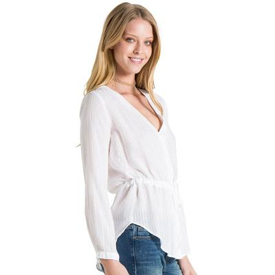 Bella Dahl Women's Tie Waist Button Down Top