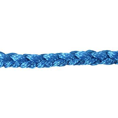 Classic Equine Rope Halter Blue