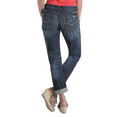 Cruel Girl Women's Ryhon Mid Rise Boyfriend Jeans