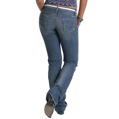 Cruel Girl Women's Blake Low Rise Slim Boot Jeans