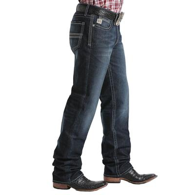 Cinch Men's Dark Stone Relaxed Grant Jeans