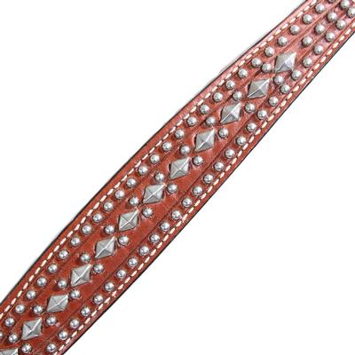 Circle Y Diamonds and Spots Breast Collar