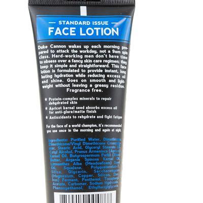 Duke Cannon's Face Lotion