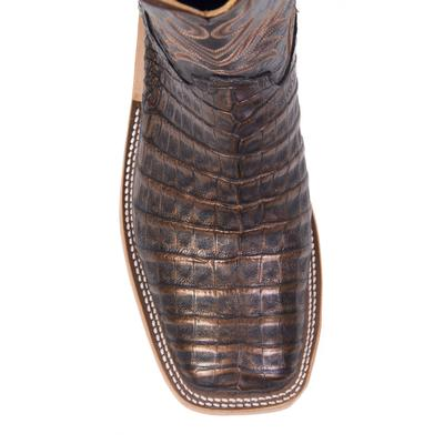 Blackened Copper Boots